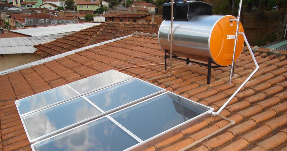 5 motivos para usar o aquecimento solar